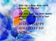 Birthday wishes quotes pictures