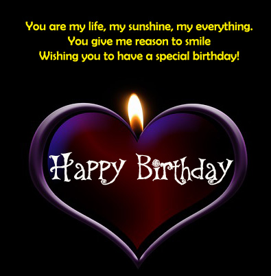 happy birthday wishes for girlfriend images messages and pictures