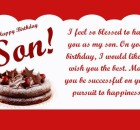 Happy birthday son wishes quotes messages