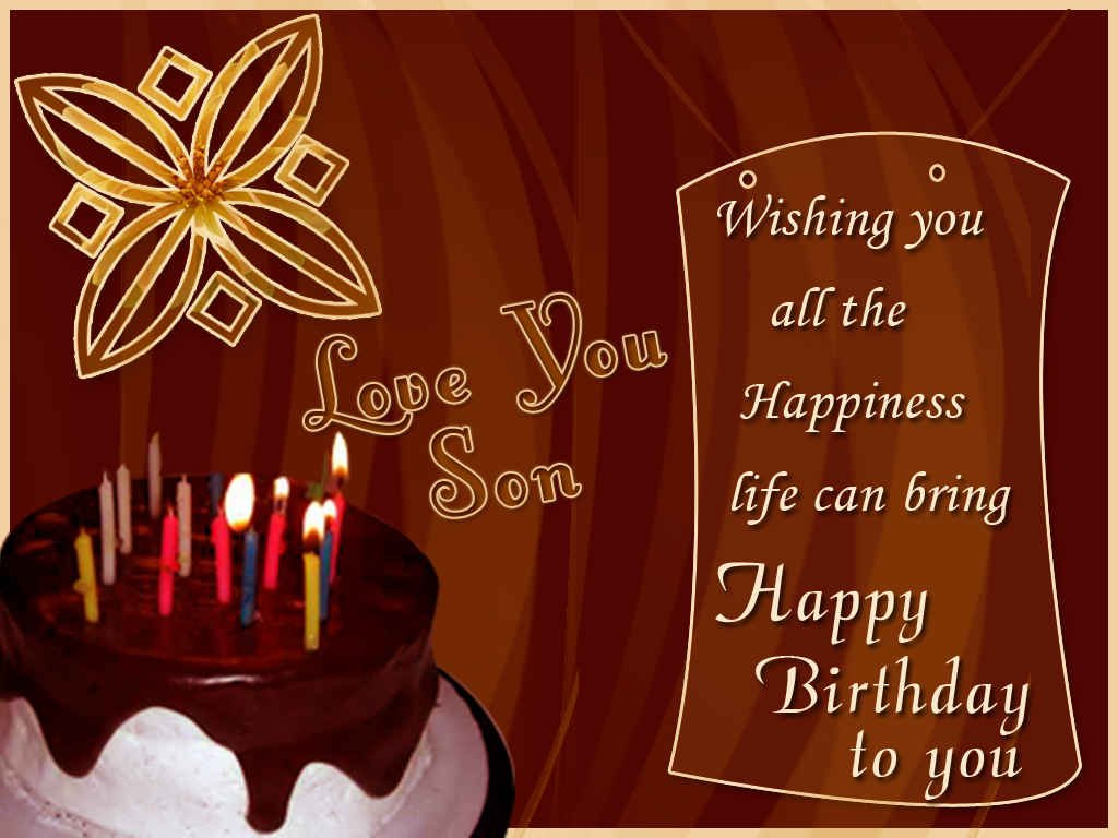 Swell Birthday Wishes For Son Happy Birthday Messages And Wishes Funny Birthday Cards Online Alyptdamsfinfo