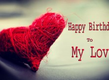 happy birthday my love images