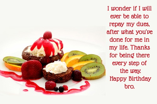 happy birthday message to brother quotes