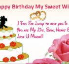 Birthday wishes for my wife images and pics